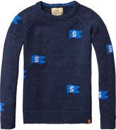 Scotch & Soda Intarsia Pullover