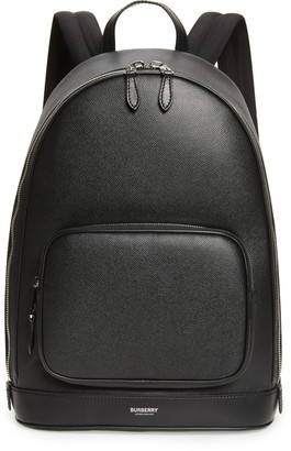 Burberry Rocco Leather & Nylon Backpack