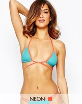 L'Agent by Agent Provocateur Cari Strappy Triangle Bikini Top