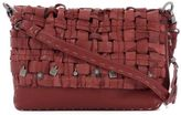 Henry Beguelin Red Leather Shoulder Bag