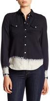 Jessica Simpson Pixie Dip-Dye Shirt