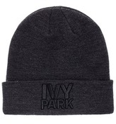 Ivy Park Logo embroidered thermal beanie