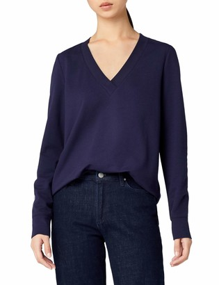 Meraki Women's Emily V-Neck Relaxed Fit Top