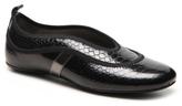 Hogan Final Sale Patent Reptile Leather Sport Flat