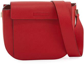 Valextra Saffiano Twist Crossbody Bag