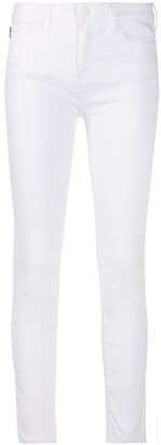 Love Moschino Embroidered Logo Skinny Jeans