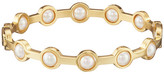 Majorica 5mm Round Notch Bangle Bracelet