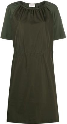 Moncler Short-Sleeve Midi Dress