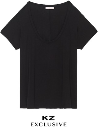 Kirna Zabête The Scoop Neck Tee