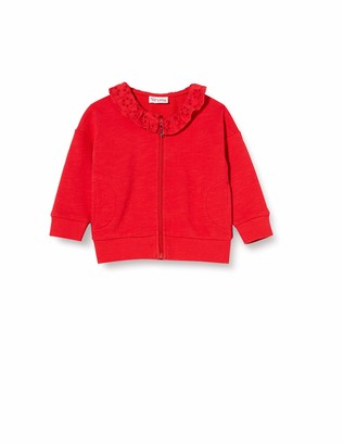 Brums Baby Girls' Top Felpa Fiammata Con Collo Jer. Sangallo Jumper