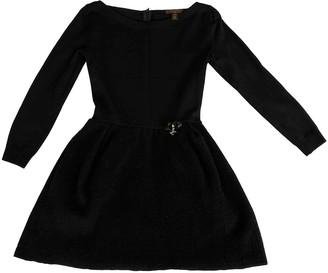 Louis Vuitton Navy Wool Dresses