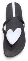 Ipanema Neo Love Heart Flip Flops