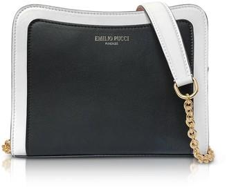 Emilio Pucci Tri-color Leather Shoulder Bag