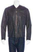 John Varvatos Coated Linen Jacket