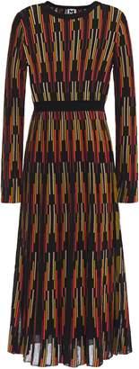 M Missoni Crochet-knit Midi Dress