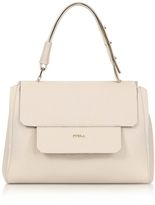 Furla Acero Leather Capriccio Medium Top Handle Bag