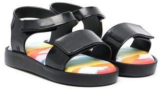 Mini Melissa Touch-Strap Jelly Sandals