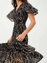 Very Metallic Spot Maxi Dress - Spot