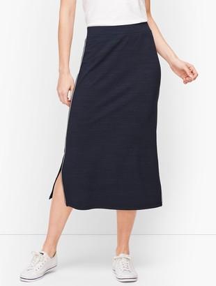 Talbots UPF 50+ Side Slit Midi Skirt