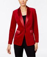 MICHAEL Michael Kors Velvet Tuxedo Jacket