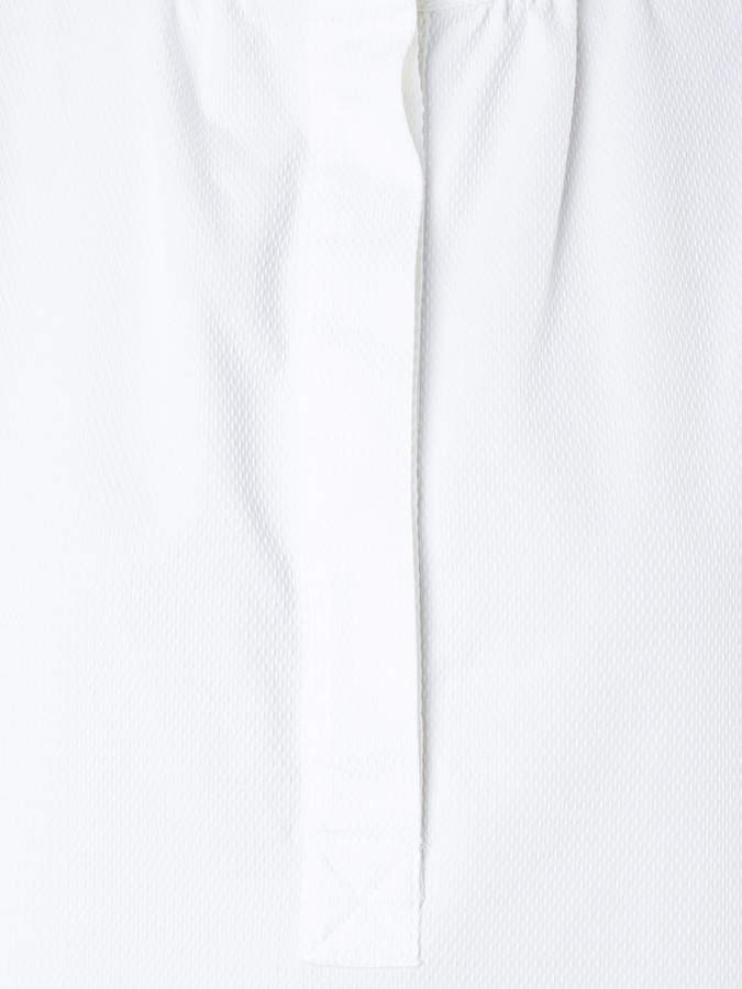 Atlantique Ascoli band collar blouse