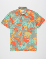 Quiksilver Desert Trip Camp Mens Shirt