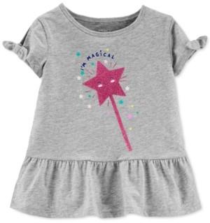 Carter's Toddler Girls Cotton I'm Magical Peplum Top
