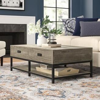 Three Posts Upson Coffee Table with Storage