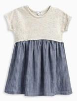 Splendid Little Girl Mixed Fabric Dress