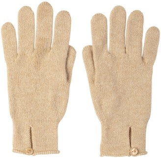Johnstons of Elgin Button Loop Womens Cashmere Gloves