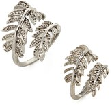 Forever 21 Leaf Ring Set