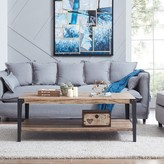 Laurèl Carl Coffee Table with Storage Foundry Modern Farmhouse