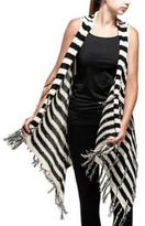 Point Zero Women's Fringed Sleeveless Poncho