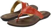 Indigo by Clarks Sol Bloom (Burnt Orange Snake Leather) - Footwear