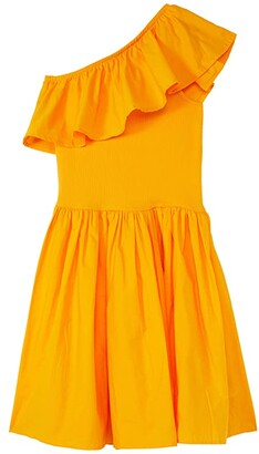 Molo Chloey (Little Kids/Big Kids) (Tangerine) Girl's Dress