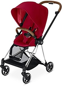 CYBEX Mios 2 Stroller with Chrome Brown Frame