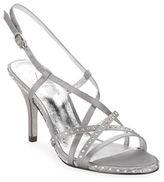 Adrianna Papell Acacia Satin Stiletto Sandals