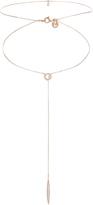 Accessorize Rose Gold Xante Lariat Choker Necklace