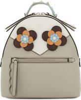 Fendi Flowers leather backpack