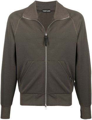 Tom Ford Funnel-Neck Zipped Jacket