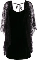 Roberto Cavalli lace layer dress
