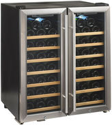 JCPenney WINE ENTHUSIAST Wine Enthusiast Silent 48-Bottle Dual-Zone Wine Cooler