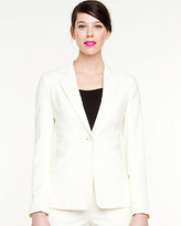 Le Château Double Weave Notch Collar Blazer