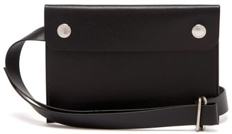 Our Legacy Tool Leather Belt Bag - Mens - Black