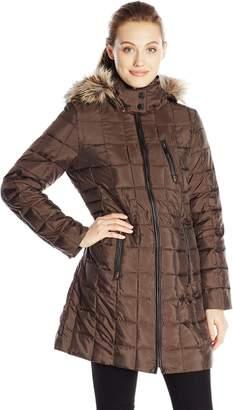 Fleet Street Ltd. Women's Mid Length Down Coat