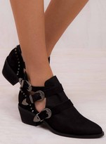 Urge Black Dakota Boots