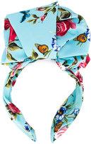 Dolce & Gabbana floral-print headband - women - Silk/Spandex/Elastane/Iron - One Size