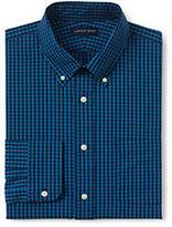 Classic Men's Tailored Fit 40s Poplin Dress Shirt-Ivory Multi Dots