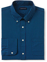 Classic Men's Tall Tailored Fit 40s Poplin Dress Shirt-Boreal Moss Multi Gingham