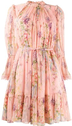 Needle & Thread Ruffled Floral Dress